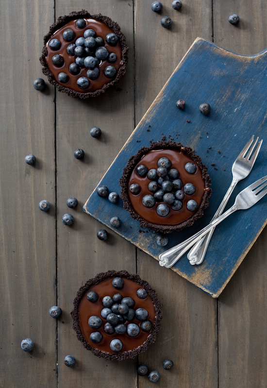 blueberry-ganache-tartlets